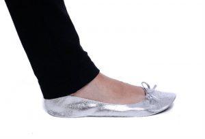 footzyrolls sparkle silver 7