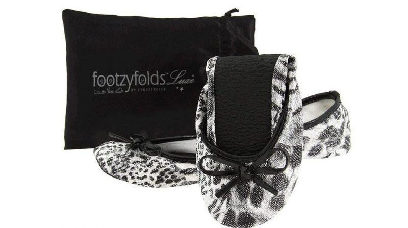 Footzyroll Cheetah Black Silver