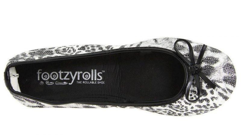 Footzyroll Cheetah Black Silver Top