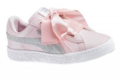 puma 36985702 basket heart sparkle ps 1