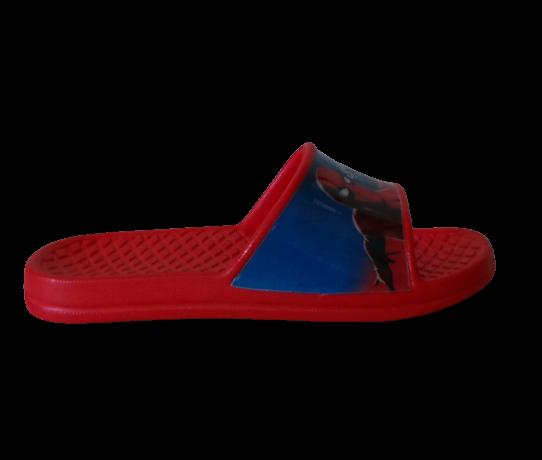 pantofles spiderman blue red