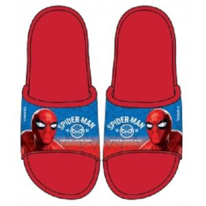 spiderman boys slippers red blue