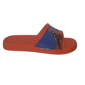 spiderman slippers red blue