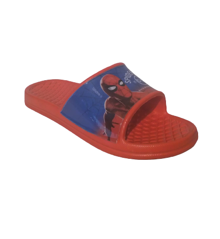 spiderman slippers red blue 2